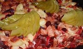 Zapékané těstoviny (nejen) s červenou řepou