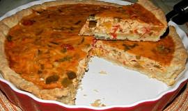 Zeleninový koláč se sýrem