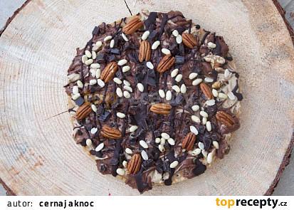 Arašídový dort (vegan)