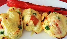 Grilovaná bramborová kaše (bez tuku)