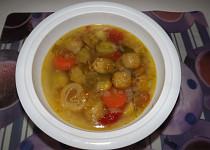 Kapustičková polévka z Brna