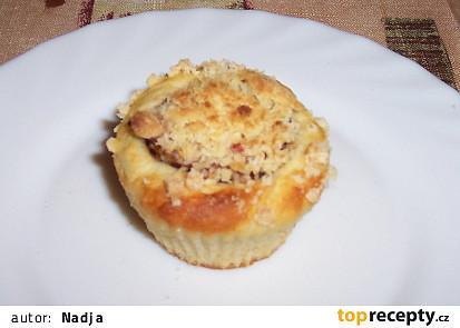 Muffin se švestkou