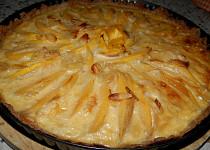 Křupavý mangový koláč