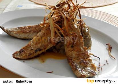 Makrela a lilkové pyré