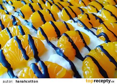 Mandarinkový řez s třepacím krémem
