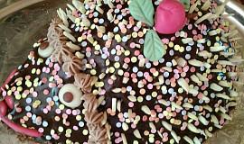 Narozeninový dort ježeček
