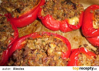 Papriky plněné trochu jinak- při netloustnutí