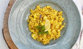 Quinoa s květákem