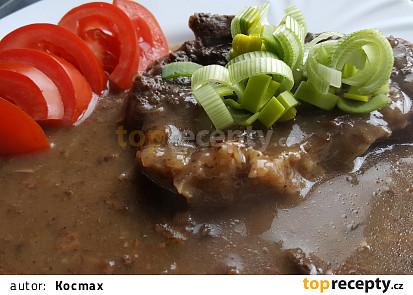 Roštěná se sušenými houbami (bez tuku)