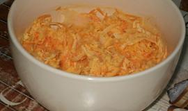 Salát z bílé ředkve s mrkví