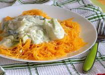 Špagetová dýně s čínským zelím