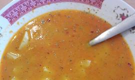Ultra slaná bryndzová polévka