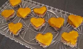 Valentýnská chlebová mini srdíčka