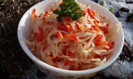 Zelný salát s medem a paprikou