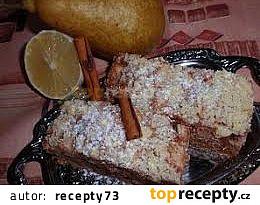 Hruškovo-citronový koláč