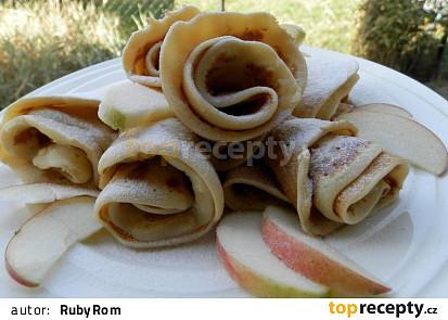 Jablkové palačinky