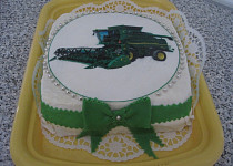 Kombajnový dort
