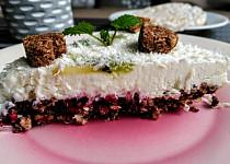 Lehký dortík z rýžového chlebíčku s ovocem (bez mouky)