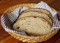 Pšenično-žitný chléb s kaší