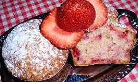 Rychlé jahodové muffiny