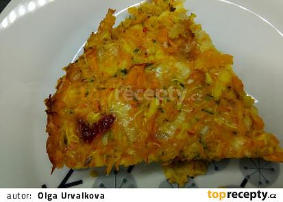Slaný dýňový koláč