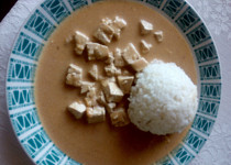 Tofu v paprikovo-smetanové omáčce