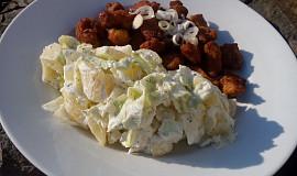 Bramborovo-ledový salát