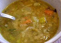 Čočková polévka nakyselo z červené čočky