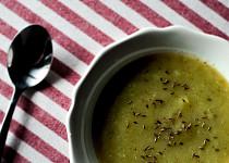Cuketová polévka (vegan)