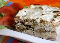 Kapusta s rýží a tofu