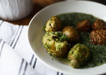 Koprovka s vařeným bramborem a pestem