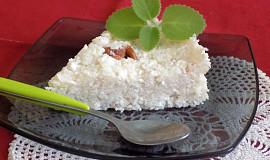 Nepečený rýžovo-tvarohový koláč