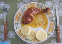 Pečená labužnická kuřecí stehna
