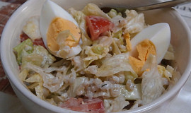 Salát z vařených krup
