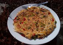 Špagetová omeleta