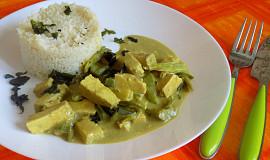 Tofu v kokosové omáčce