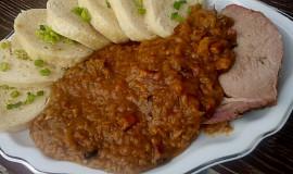 Vepřové maso v kapustě