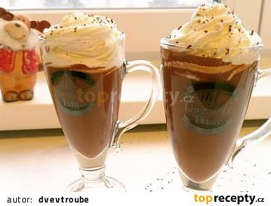 Domácí horká čokoláda s kořením