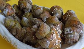 Mangoldové rohlíčky s makovou moukou