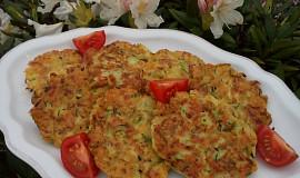 Cuketové placičky s mozzarellou
