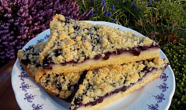 Drobenkový koláč (nejen) s borůvkami - z remosky