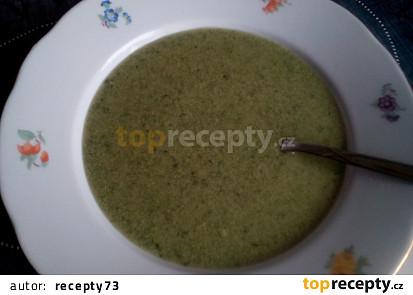 Polévka (nejen) z medvědího česneku