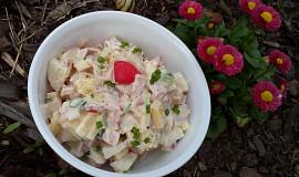 Ředkvičkový salát (nejen) se šunkou