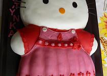Dort Hello Kitty pro vnučku Kristýnku