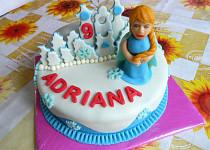 Dort Ledové království pro vnučku Adrianu