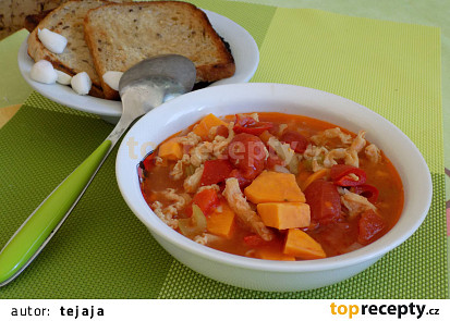 Dršťková polévka s batáty