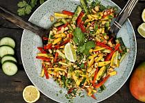 Salát s mangem