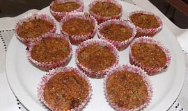 Vločkové muffiny s jablky