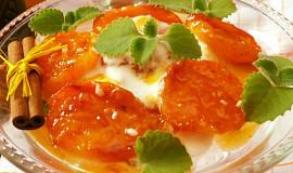 Grilované meruňky