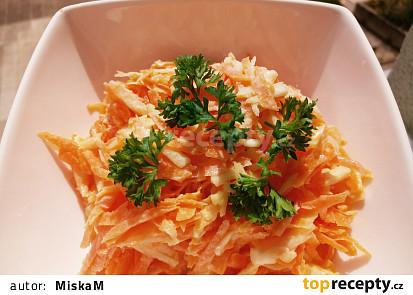 Lehký salát coleslaw bez zelí